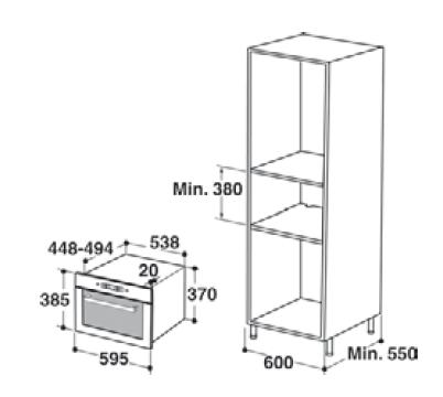 whirlpool amw 755 ix microonde incasso. Black Bedroom Furniture Sets. Home Design Ideas