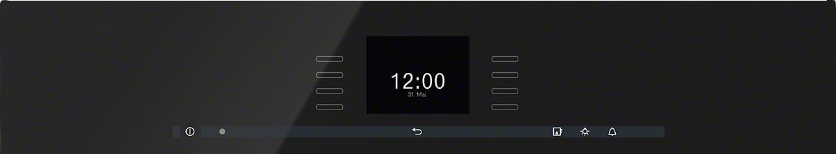 miele dgc 6600 xl nero ossidiana forno. Black Bedroom Furniture Sets. Home Design Ideas