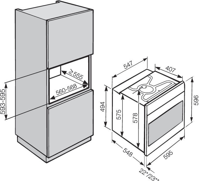miele h 5681 b kat supervision forno. Black Bedroom Furniture Sets. Home Design Ideas