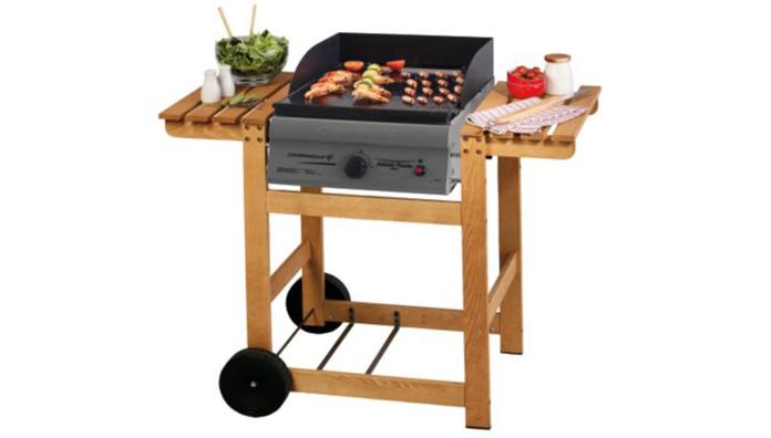 Campingaz adelaide plancha woody 205265 barbecue a gas for Camping gaz barbecue plancha