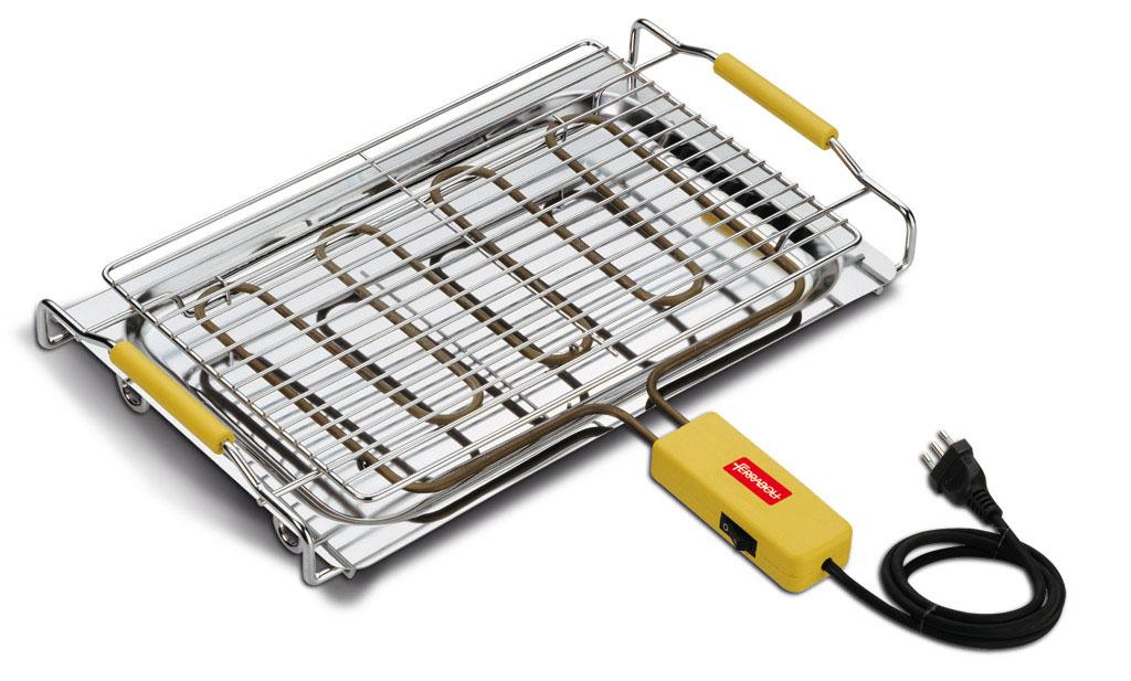 Ferraboli bistecchiera elettrica beta accessori barbecue for Bistecchiera elettrica
