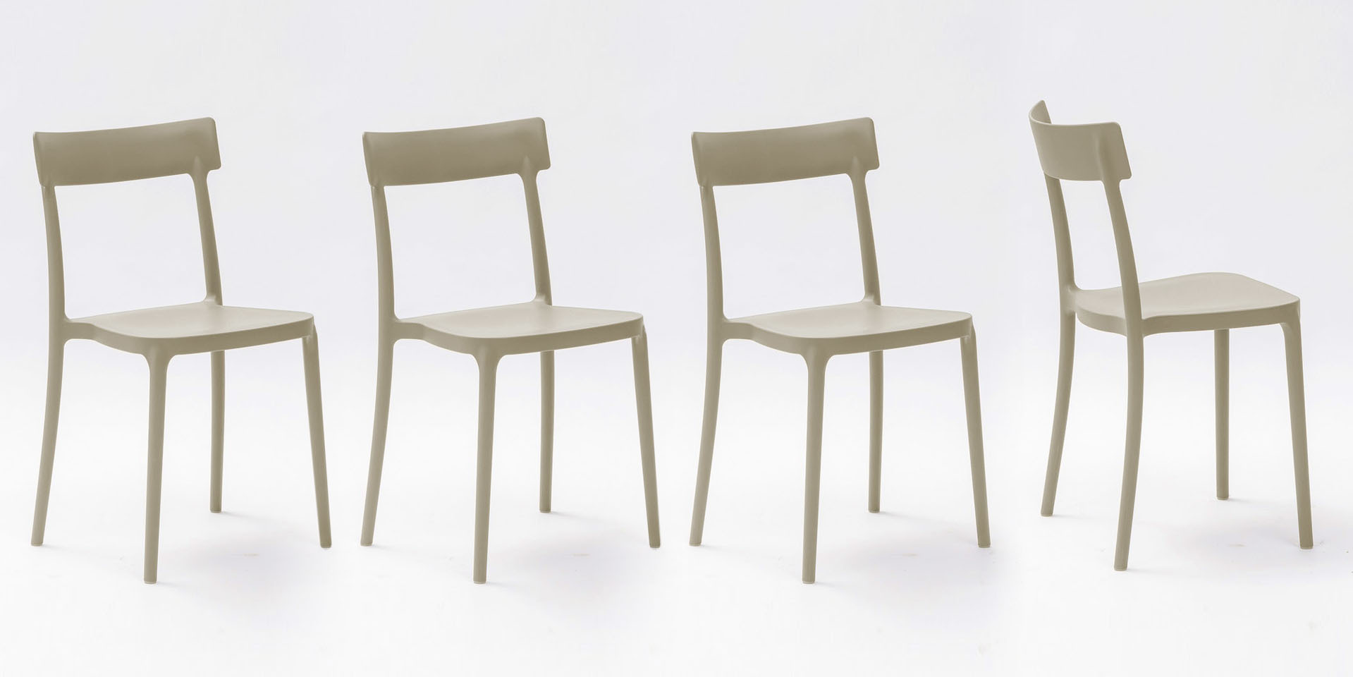 La Seggiola set di 4 sedie Corsocomo - Set 4 sedie