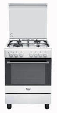 Cucina con forno ventilato hotpoint ariston h6tmh2af for Cucina hotpoint ariston