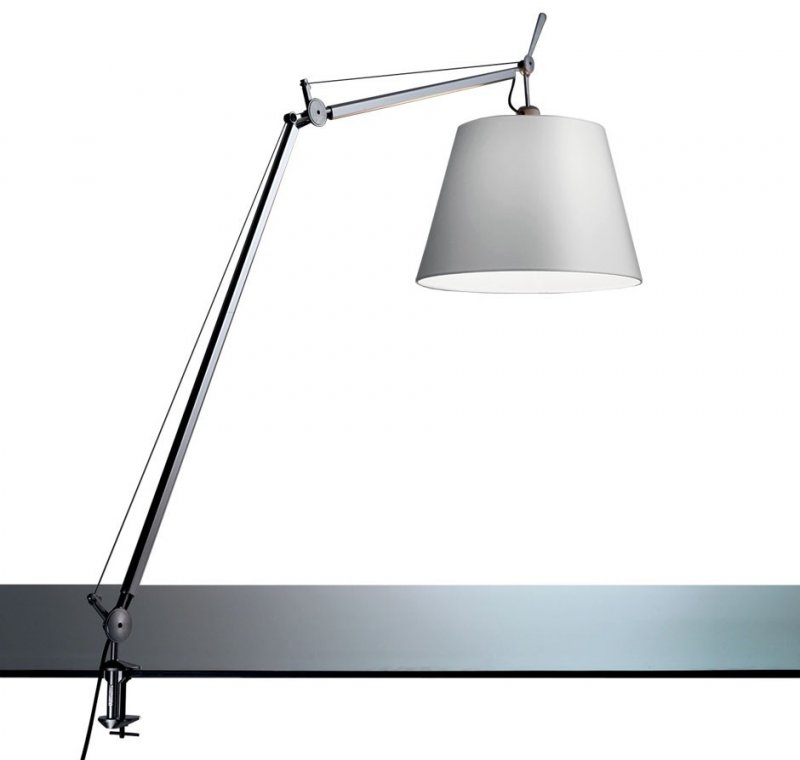 artemide tolomeo mega tavolo led dimmer 32 lampade da tavolo. Black Bedroom Furniture Sets. Home Design Ideas