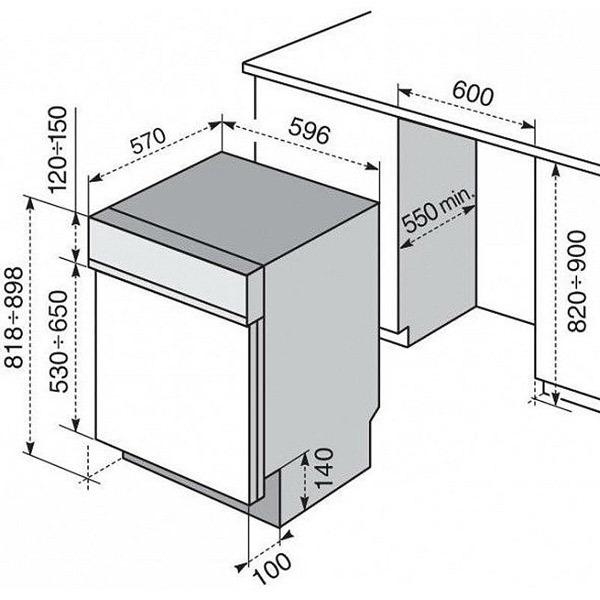 Electrolux tp1003r5x lavastoviglie incasso - Porta per lavastoviglie da incasso ...