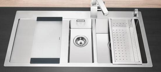 blanco claron 6 s if vasca sx 1514002 lavello inox. Black Bedroom Furniture Sets. Home Design Ideas