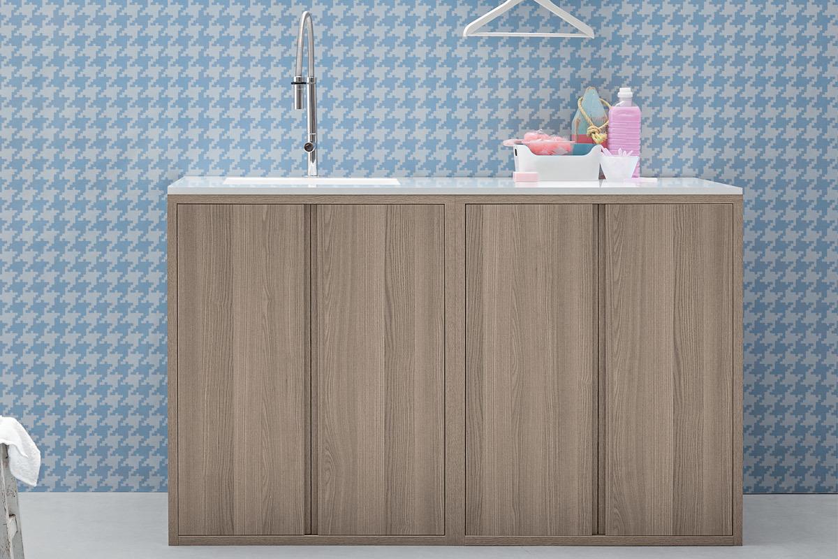 Birex Acqua e Sapone - mobile con lavatoio Pietralux - MN100002+ ...