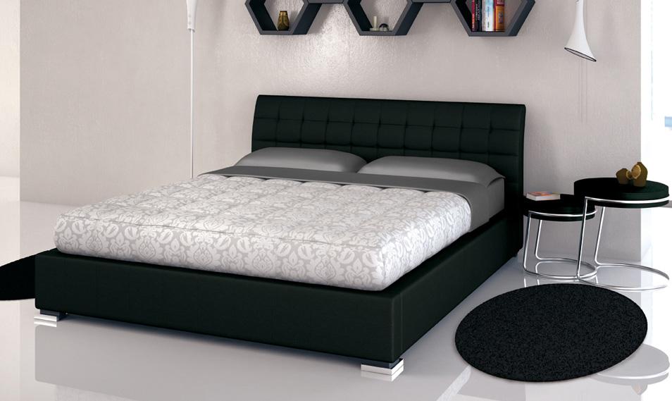 Target point letto chamonix matrimoniale con contenitore bd427 4 letto matrimoniale - Letto matrimoniale ecopelle con contenitore ...