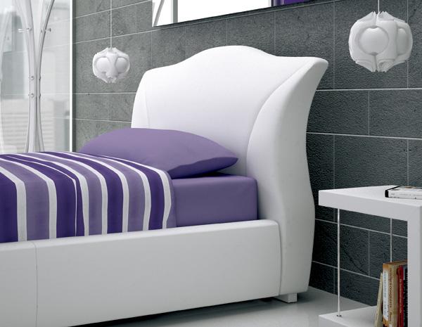 Target point letto maddalena ad una piazza e mezza con contenitore letto a una piazza e mezza - Letto contenitore 1 piazza e mezza ...
