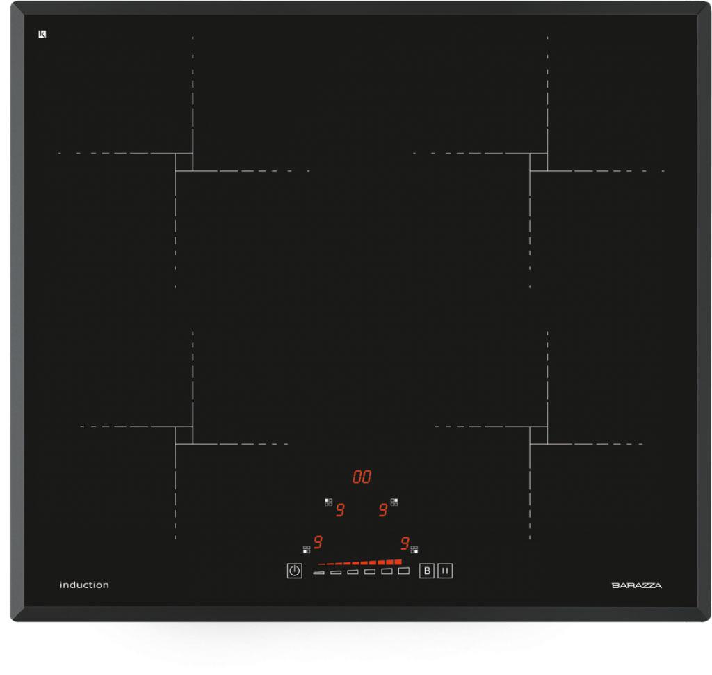 Barazza induzione 1pid64n piani cottura elettrici for Fornelli a induzione consumi