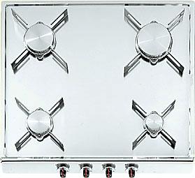 Alpes Inox 52/50 4G da appoggio-ribaltabile - Piani cottura a gas