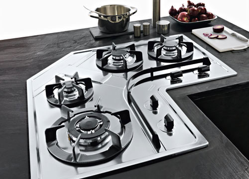 Franke Design Plus DPA 3GAV-TC - Piani cottura a gas