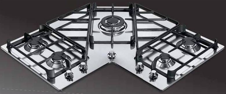 Foster Angolare - 7038 052 - Piani cottura a gas