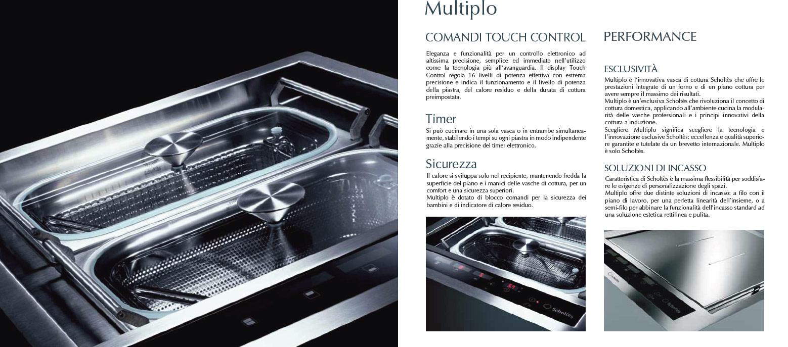 Scholtes MULTIPLO.1 F S - Piani cottura elettrici