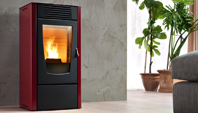 Red dalia air stufe a pellet - Stufe a pellet ventilate ...
