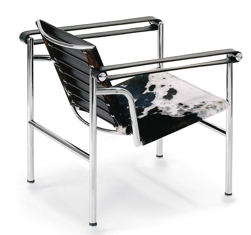 Sedia Basculante LC1 Le Corbusier - Poltroncine