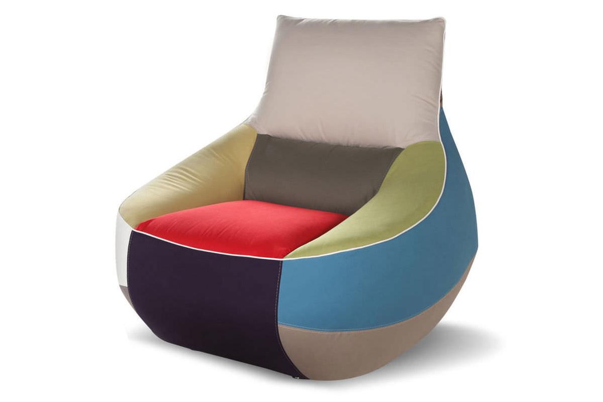 calia italia rumba poltrona patchwork poltrona. Black Bedroom Furniture Sets. Home Design Ideas