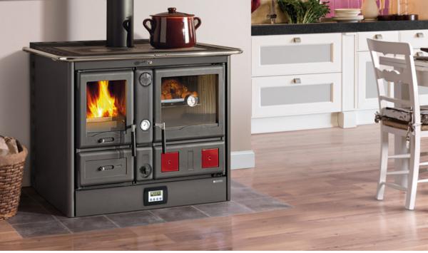 La nordica termorosa xxl ready dsa nero termostufe a legna - Termostufe a legna nordica ...
