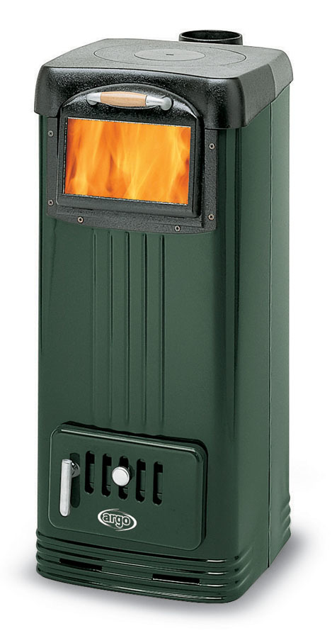 Argo super sl verde supersl verde stufa a legna for Argo stufe