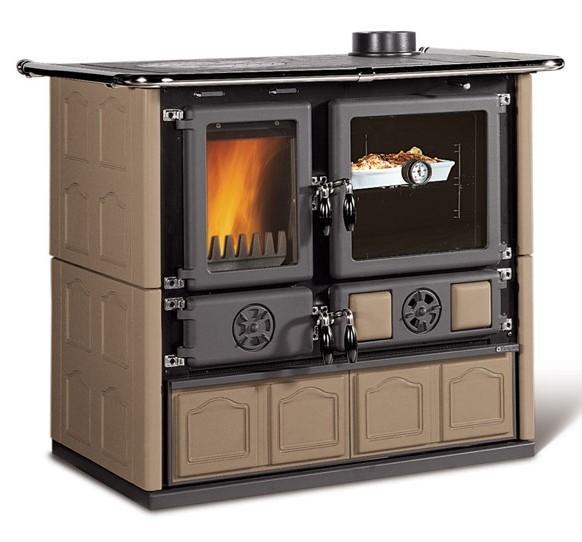 la nordica rosa maiolica tortora stufe a legna. Black Bedroom Furniture Sets. Home Design Ideas
