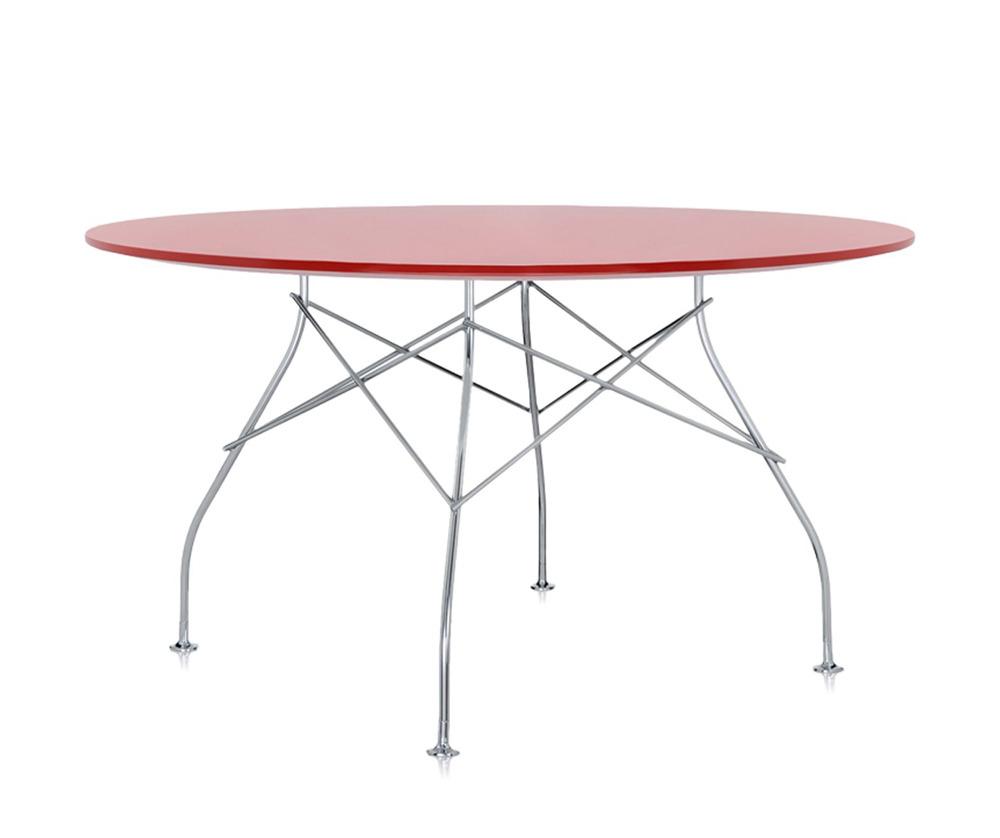 Kartell glossy 4561 tavolo for Tavolo kartell rotondo