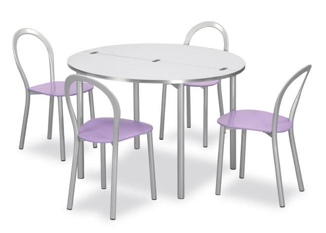 Connubia calligaris clip tavolo rotondo consolle tavoli - Calligaris tavolo rotondo ...