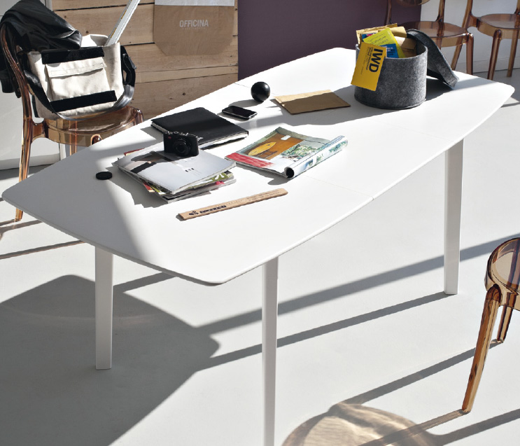 Connubia calligaris cream table cb 4063 r tavolo for Tavolo cream calligaris