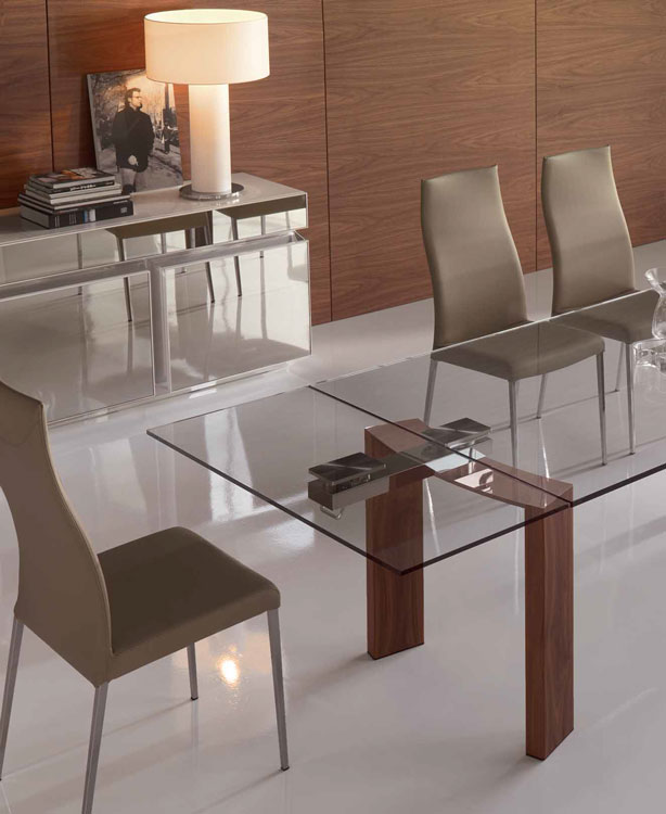 Cattelan italia tavolo allungabile daytona 140x80 for Tavolo 140x80 allungabile legno