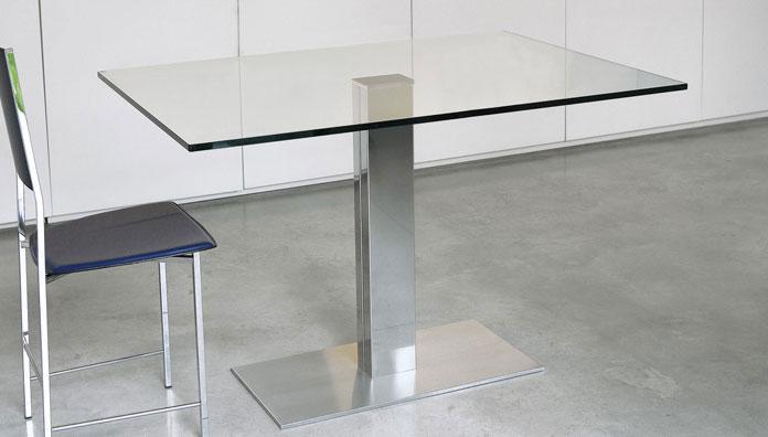 Cattelan italia tavolo fisso elvis 80x80 tavoli - Tavolo quadrato 80x80 allungabile ...