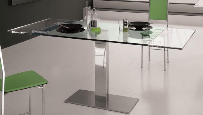 Cattelan italia tavolo allungabile elvis drive 120 tavoli - Tavoli in cristallo allungabili cattelan ...