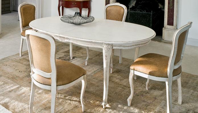 Tavolo Allungabile Giallo : Tonin casa tavolo allungabile dorado tavoli