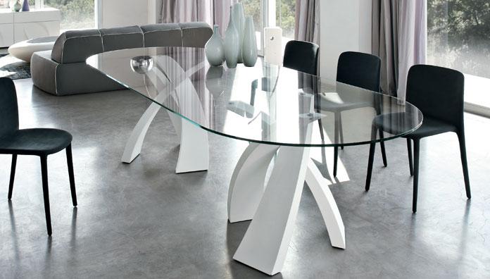 Tonin casa tavolo fisso big eliseo 8061 ox t8061 ox tavolo for Tavolo salone moderno