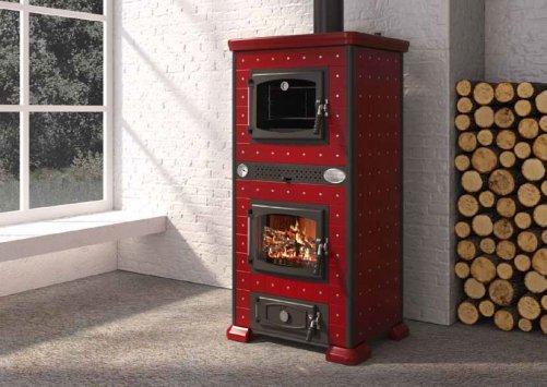 Anselmo cola termo regina 4 forno termostufe a legna for Termostufe a legna con forno