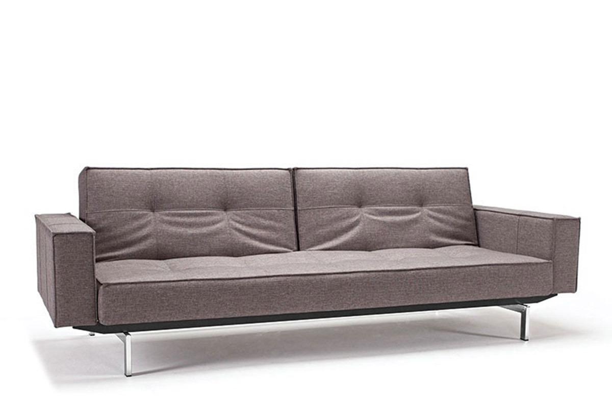 innovation splitback sofa bed with arm rests. Black Bedroom Furniture Sets. Home Design Ideas