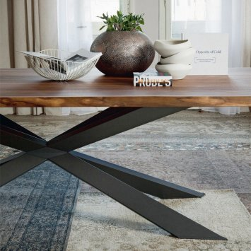 cattelan italia spyder wood sto y. Black Bedroom Furniture Sets. Home Design Ideas